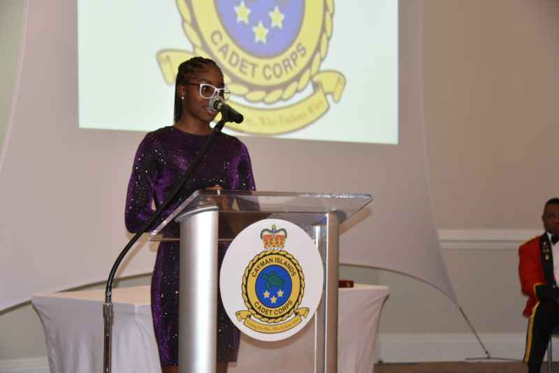 Cadet Corps dinner highlights COVID support