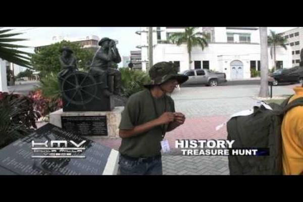 Cayman Islands Cadet Corps - CAMP HISTORY HUNT