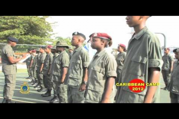Cayman Islands Cadet Corps - Camp