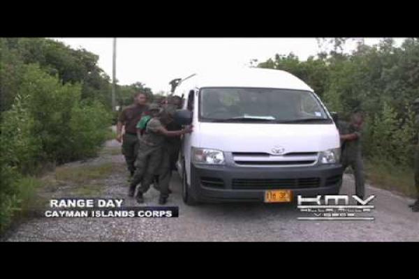 Cayman Islands Cadet Corps - RANGE DAY
